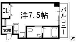 アマントリビエール鉢塚[3階]の間取り