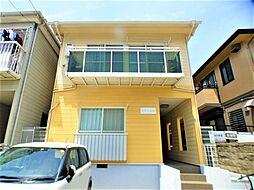 兵庫県西宮市松下町の賃貸アパートの外観