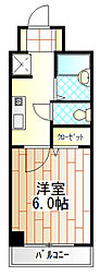 クレスト相模原[2階]の間取り