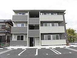 愛知県西尾市道光寺町西縄の賃貸アパートの外観