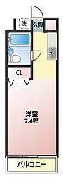 コーポ鈴木[206号室]の間取り