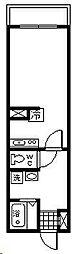 平成企画コーポ[101号室]の間取り