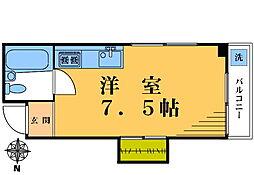 ノ−ス88[204号室]の間取り