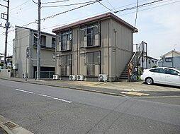 茨城県取手市本郷1丁目の賃貸アパートの外観
