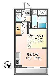 サン・フローラ 弐番館[1階]の間取り