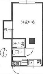 伊藤荘[2階]の間取り