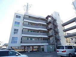 長野県長野市平林2丁目の賃貸マンションの外観