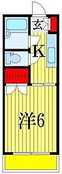 サンコーポ広瀬[1階]の間取り