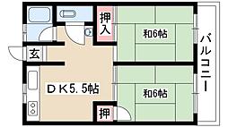 若山ビル[5階]の間取り