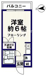 新中野レインボーハイム[2階]の間取り