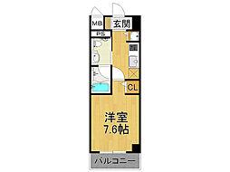 グルーヴ武庫川[9階]の間取り