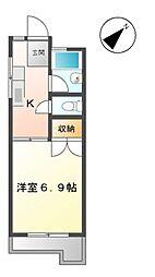 大寿ハウス[1階]の間取り