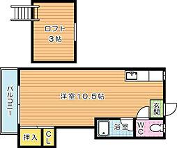 シティベールIDAI(シティベールイダイ)[2階]の間取り