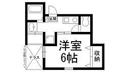 Uro桜木町C[0302号室]の間取り