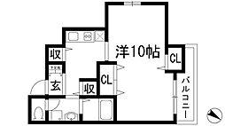 TNGテンジン[2階]の間取り