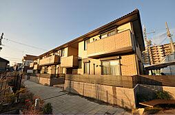 大阪府八尾市高美町1丁目の賃貸アパートの外観
