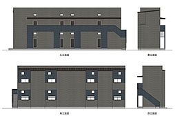愛知県名古屋市守山区東山町の賃貸アパートの画像