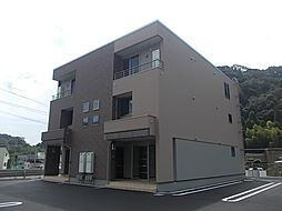 鹿児島県鹿児島市山田町の賃貸アパートの外観