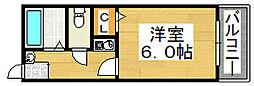 メゾン明日香[2階]の間取り