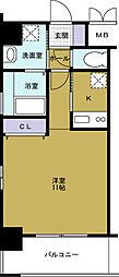 アドバンス大阪ベイストリート[4階]の間取り