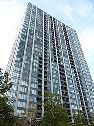 外観(外観/総戸数483戸、免震構造、33階建てタワー型分譲)