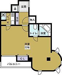 サングラン千代崎[2階]の間取り