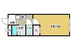サンシーハウス[2階]の間取り