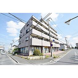 埼玉県鶴ヶ島市松ヶ丘1丁目の賃貸マンションの外観