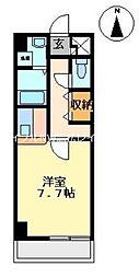デロリアン[2階]の間取り