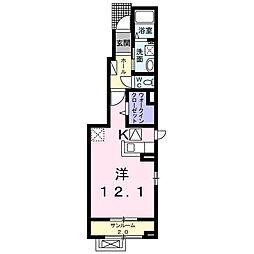 福町アパート[0101号室]の間取り
