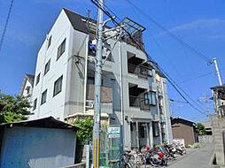 下木田マンション[1階]の外観