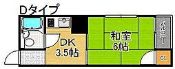 プレアール住之江公園IV[5階]の間取り