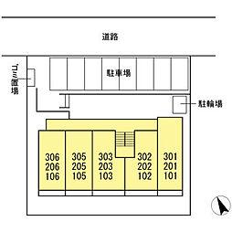 (仮称)D−room松葉町[101号室]の外観