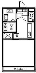 住吉ロードハウス[207号室]の間取り