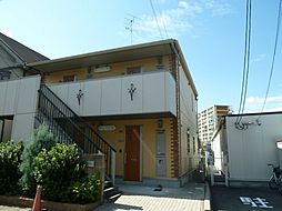 京都府京都市伏見区醍醐新開の賃貸アパートの外観