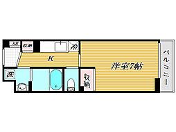 東京都板橋区宮本町の賃貸マンションの間取り