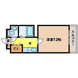 北海道札幌市中央区北七条西24丁目の賃貸マンションの間取り