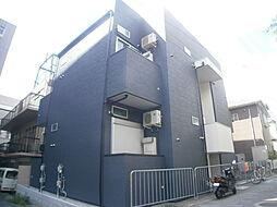 兵庫県神戸市灘区浜田町1丁目の賃貸アパートの外観