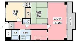 ノールボアー2[2階]の間取り