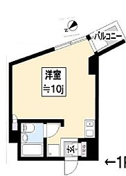 WIN FUNABSHI[703号室]の間取り