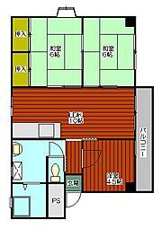 マンションY&M[1階]の間取り