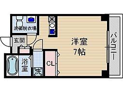 アビタ細川総持寺[5階]の間取り