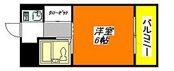 BFレジデンス・小阪 1006号室[10階]の間取り