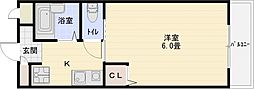 ルミネスハウス山下[1階]の間取り
