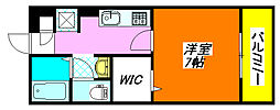 セジュールオッツ・八戸ノ里 301号室[3階]の間取り