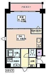 アモーレ二階町[301号室]の間取り