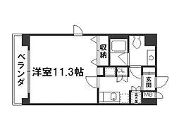 キアーラ御所[2階]の間取り