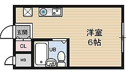 グランドハイツ野田[6階]の間取り