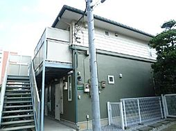 東京都北区豊島7丁目の賃貸アパートの外観