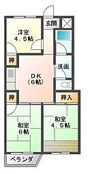 SAMURAIマンション[4階]の間取り